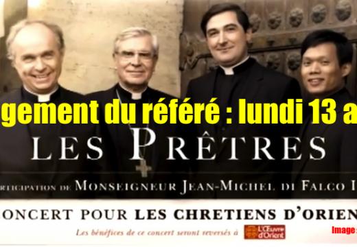 Affaire de l'affiche : jugement du référé le 13 avril
