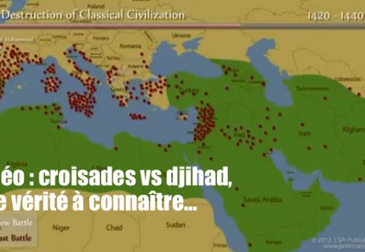 Croisades vs djihad : quelques vérités bonnes à connaître