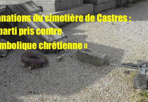 Cimetière de Castres : un « parti pris contre la symbolique chrétienne »…