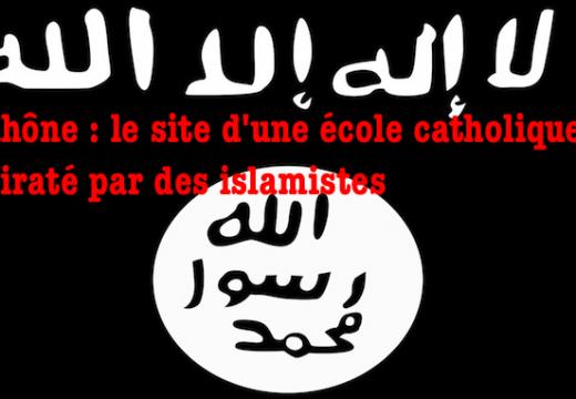 Rhône : le site Internet d'une école catholique piraté par des islamistes