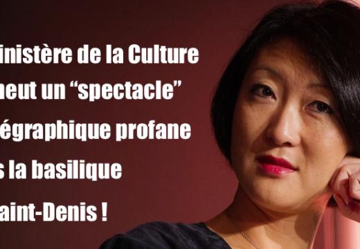 """Un """"spectacle"""" chorégraphique profane en la basilique de Saint-Denis !"""