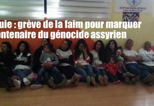 Turquie : grève de la faim d'Assyriens pour commémorer le génocide