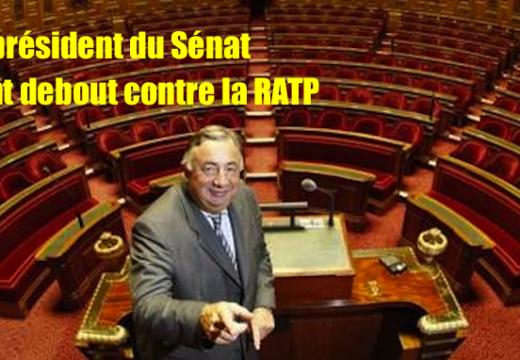 Affiche censurée : le président du Sénat vent debout contre la RATP