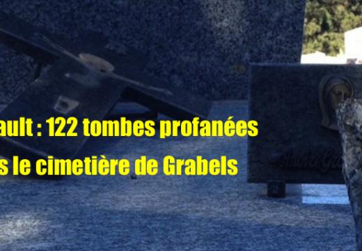 Hérault : 122 tombes profanées dans le cimetière de Grabels