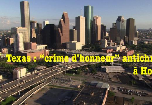 """Texas : un """"crime d'honneur"""" musulman à Houston"""