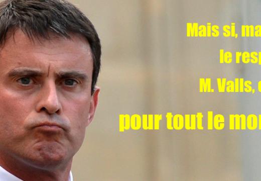 """Manuel Valls et son """"plan antiracisme"""" à géométrie variable…"""