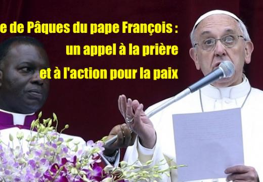 Le pape François lance un appel à la prière et à l'action pour la paix