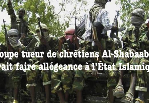 Somalie : Al-Shabaab pourrait faire allégeance à l'État Islamique