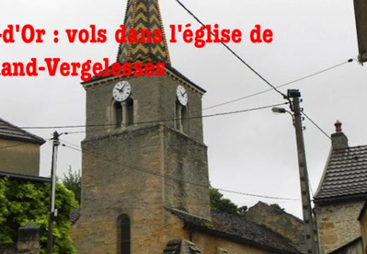 Côte-d'Or : tableaux volés dans l'église Saint-Germain de Pernand-Vergelesses