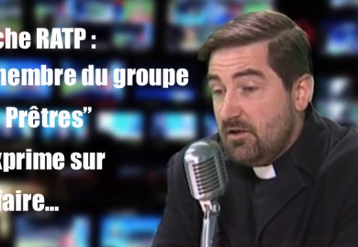 """Vidéo : un des trois membres du groupe """"Les Prêtres"""" s'exprime…"""