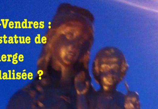 Port-Vendres : une statue de la Vierge Marie vandalisée ?