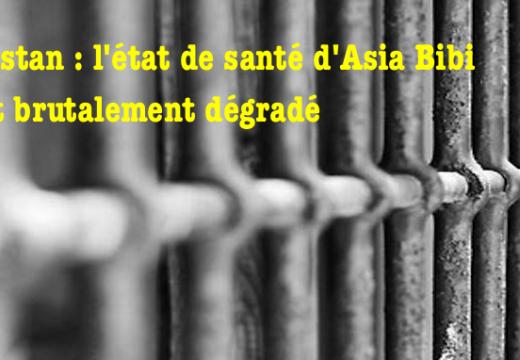 Asia Bibi : graves préoccupations sur sa santé qui se détériore