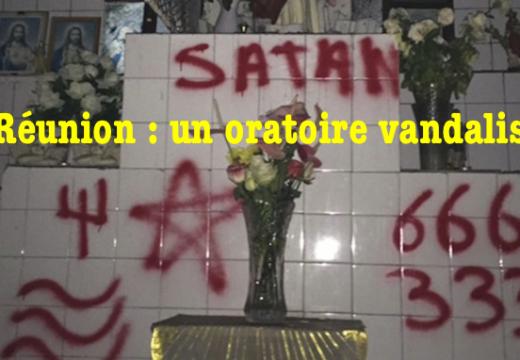 La Réunion : un oratoire catholique vandalisé