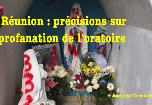 La Réunion : nouvelles précisions sur l'oratoire vandalisé