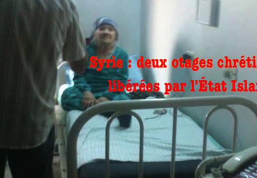 Syrie : l'État Islamique relâche deux otages chrétiennes âgées