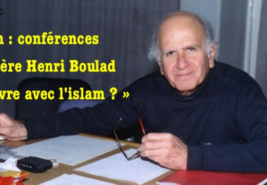 «Vivre avec l'islam ? » : conférences du Père Boulad à Lyon
