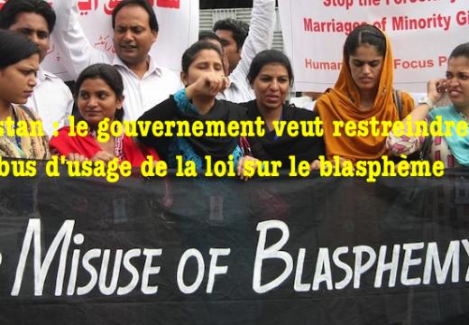 Réaction chrétienne au projet gouvernemental de révision de la Loi sur le blasphème au Pakistan