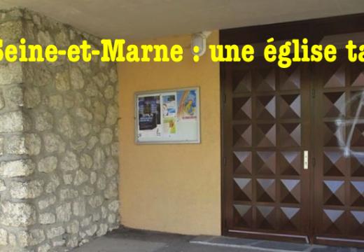 Val-de-Marne : une église taguée à Champigny