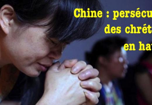 Persécution des chrétiens en hausse en Chine