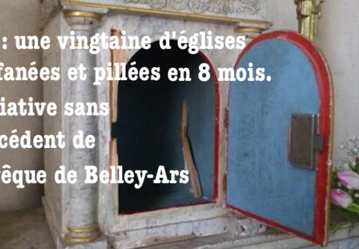 Ain : pour stopper le pillage des églises, une initiative de l'évêque de Belley-Ars