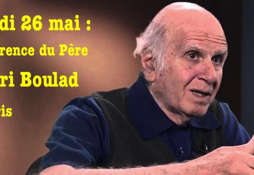 Situation des chrétiens en Égypte : conférence à Paris du Père Henri Boulad