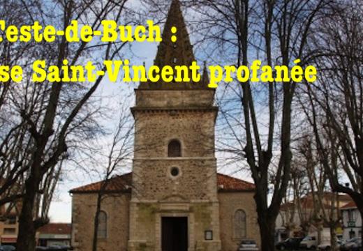 Gironde : église profanée à La Teste-de-Buch