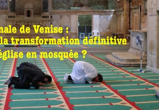 Biennale de Venise : des musulmans voudraient que la mosquée temporaire soit définitive
