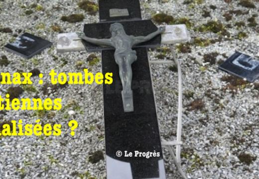 Ain : tombes chrétiennes vandalisées dans un cimetière d'Oyonnax ?