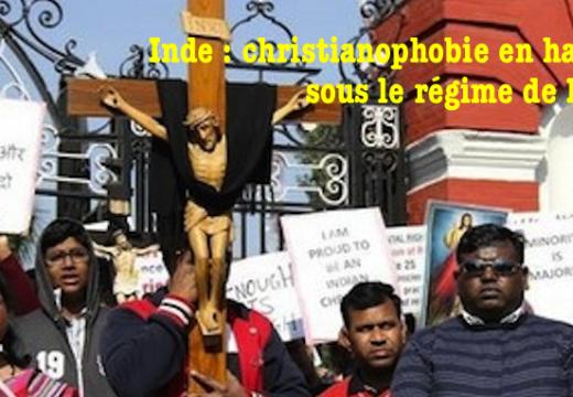 Inde : christianophobie en hausse en 2014
