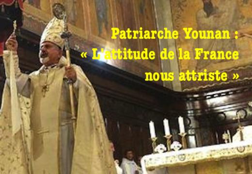 Patriarche Younan : les Occidentaux complices de « l'hécatombe » des chrétiens en Syrie