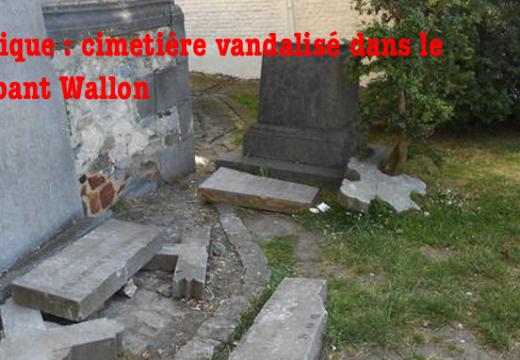 Belgique : cimetière vandalisé à Tubize dans le Brabant Wallon