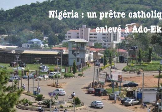 Nigéria : un prêtre enlevé dans le diocèse d'Ekiti