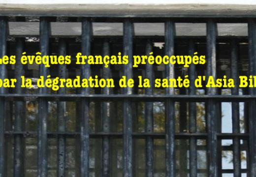 Asia Bibi : les évêques français s'alarment de son état de santé