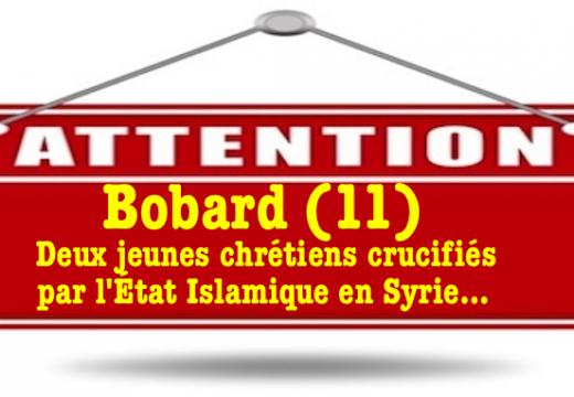 Enfants chrétiens crucifiés par l'État Islamique : un bobard…