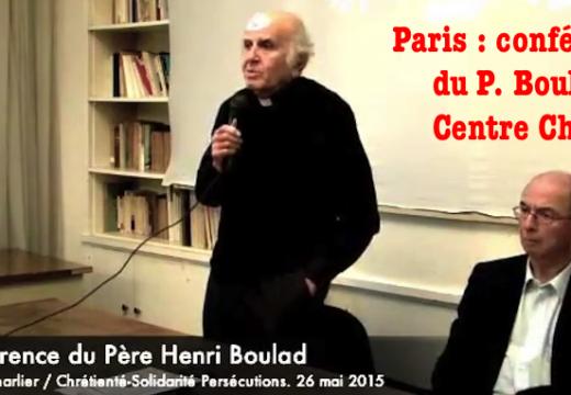Centre Charlier : la conférence du Père Boulad