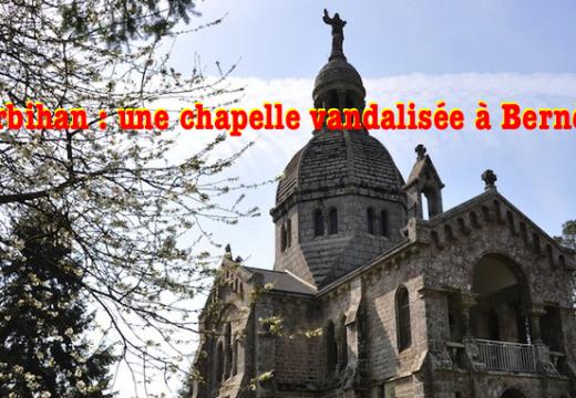 Morbihan : la chapelle du Sacré-Cœur de Berné vandalisée