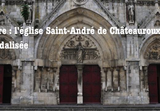 Châteauroux : une église vandalisée, mais pas de caractère « religieux »