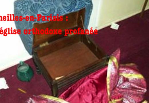 Cormeilles-en-Parisis : profanation et vols dans une église orthodoxe