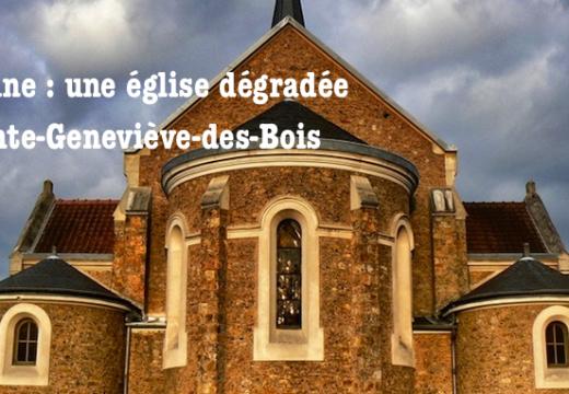 Essonne : dégradations dans une église de Sainte-Geneviève-des-Bois