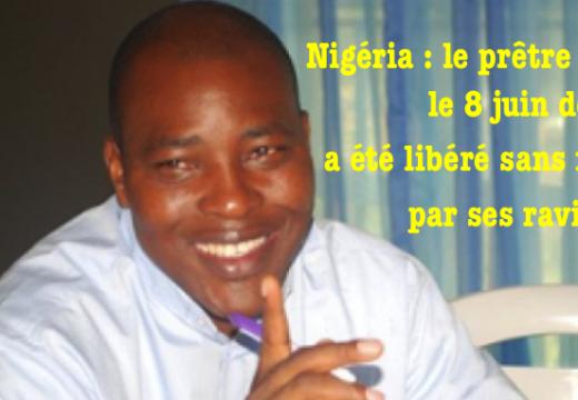 Nigéria : le prêtre enlevé le 8 juin, a été libéré