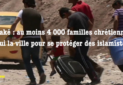 Hassaké : le nombre des familles chrétiennes ayant fuit la ville, pourrait se monter à 4 000