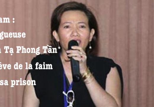 Vietnam : grève de la faim d'une blogueuse catholique emprisonnée