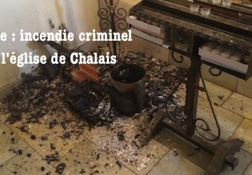 Suisse : incendie criminel dans une église du Valais