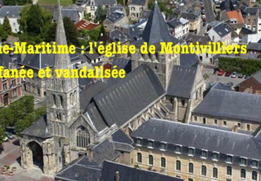 Seine-Maritime : profanation, vandalisme et tentative de vol dans l'église de Montivilliers