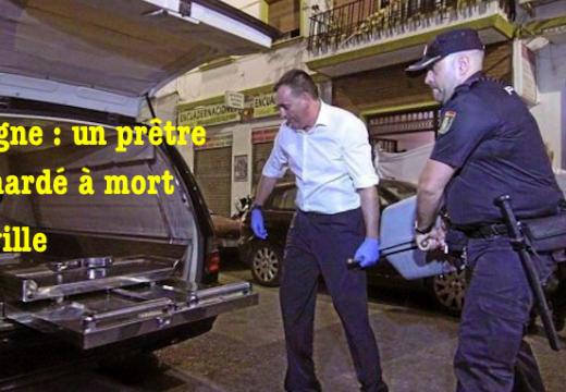 Espagne : un prêtre poignardé à mort à Séville