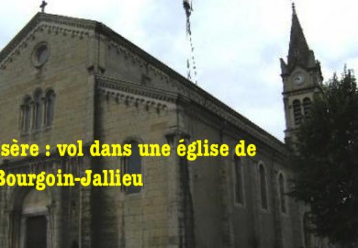 Isère : une statue volée dans une église de Bourgoin-Jallieu