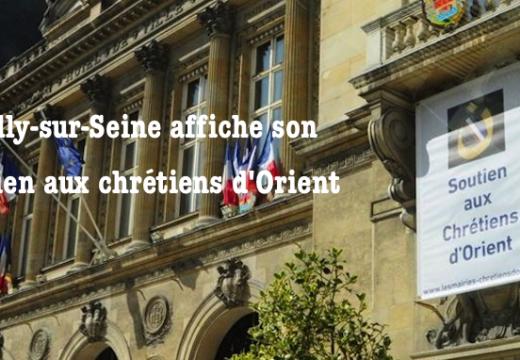 La municipalité de Neuilly-sur-Seine soutient les chrétiens d'Orient