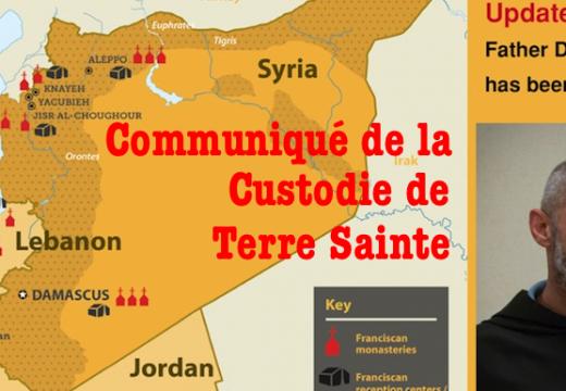 Libération du Père Azziz : communiqué de la Custodie de Terre Sainte