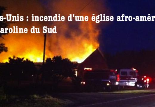 États-Unis : encore un incendie d'église