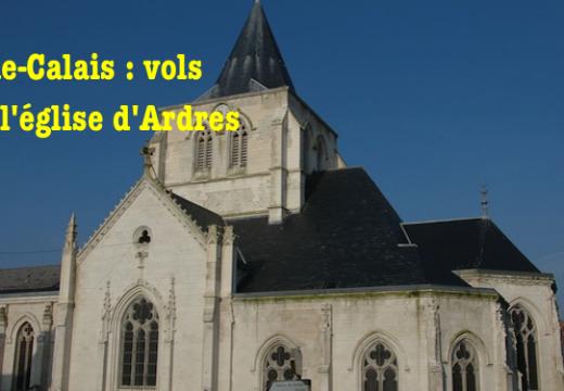 Pas-de-Calais : vols dans l'église d'Ardres